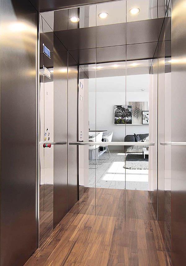 лифтовая кабина стиль